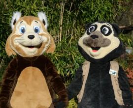 Le Mascotte del Parco