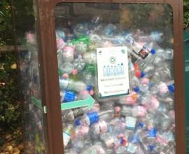 20 quintali di plastica raccolti